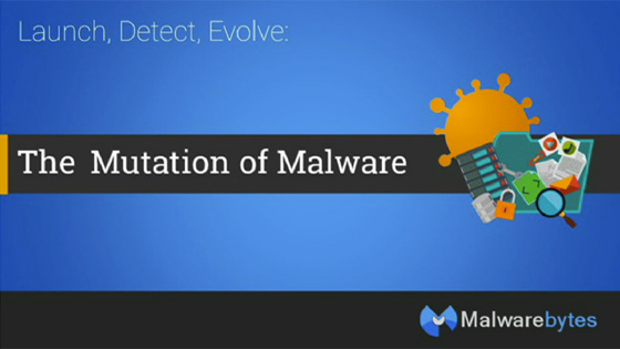 Launch, Detect, Evolve: The Mutation of Malware Webinar